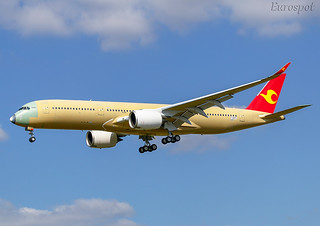 F-WZFG AIRBUS A350 Tianjin Airlines