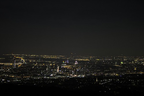 Wien from the hill