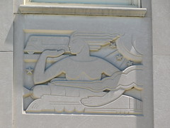 Providence RI Post Office Stone Relief