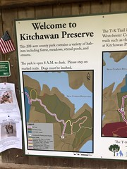 Kitchawan Preserve trail map