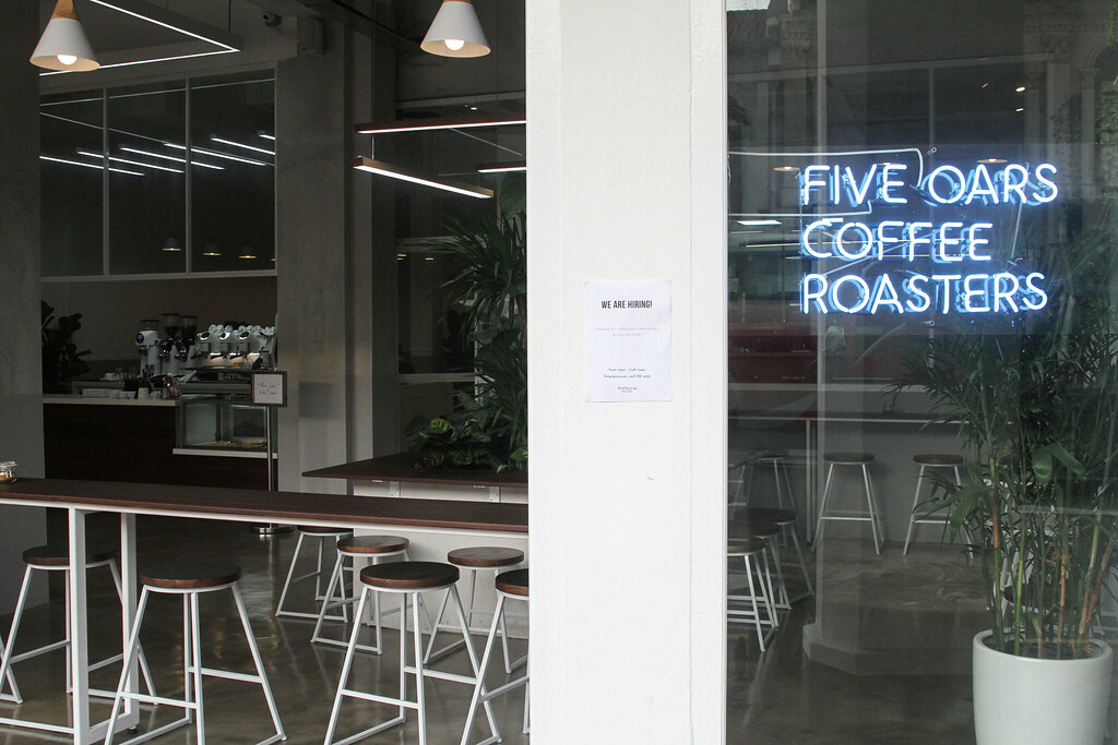 Five Oars Coffee Roasters Storefront