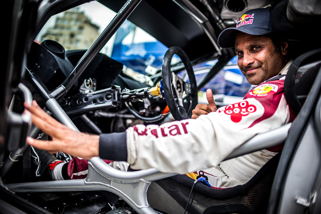ALATTIYAH Nasser (QAT), NASSER ALATTIYAH, FORD FIESTA R5, portrait during the 2018 European Rally Championship ERC Cyprus Rally,  from june 15 to 17 at Larnaca, Cyprus - Photo Thomas Fenetre / DPPI