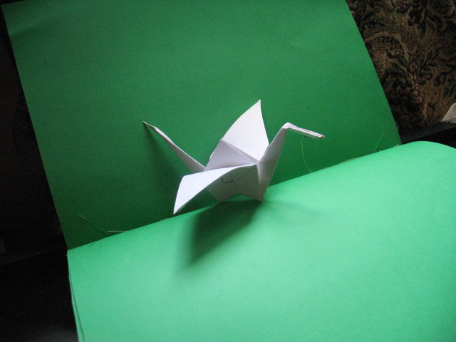 My very first paper Crane