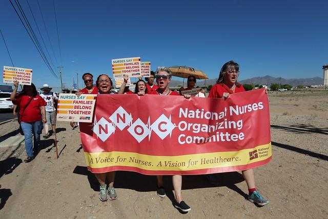 Nurses Say Families Belong Together — El Paso, June 19