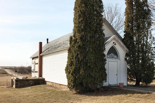 Wardsville Primitive Methodist Church - rural Shullsburg, WI