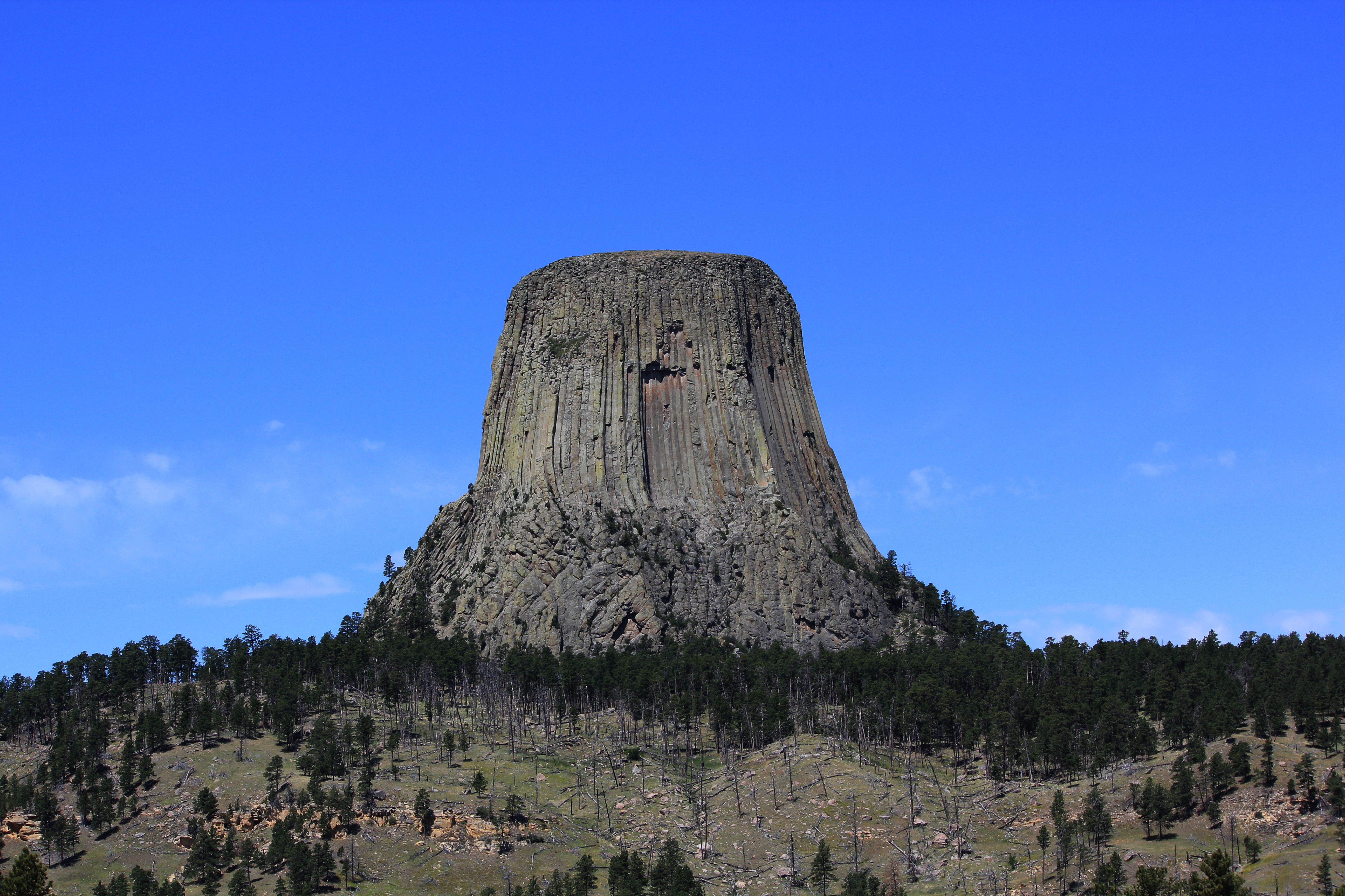 Devil's Tower National Monument, Wyoming. Photo taken on June 19, 2012.