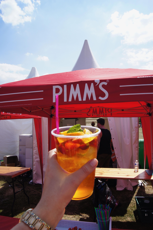 Manchester Eats Festival - pimms