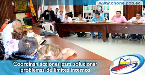 Coordinan acciones para solucionar problemas de límites internos
