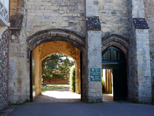 Archway to the Bishop's Palace Gardens