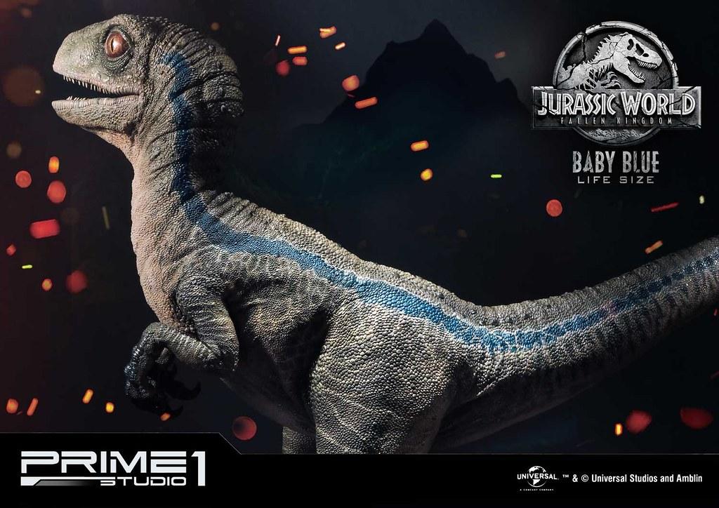 Prime 1 Studio《侏羅紀世界2:殞落國度》嬰兒小藍 ベビーブルー Baby Blue LMCJW2-02 1:1 比例全身雕像作品