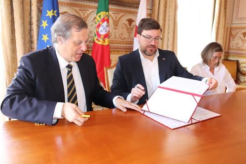 Assinatura de Protocolo de Cooperação - Govint (Salão Nobre) 007