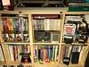 Shelves in the Byte Cellar (geek den)