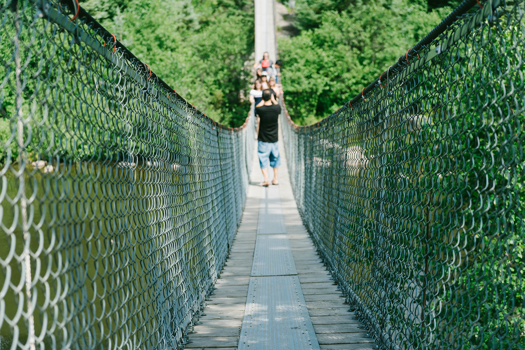 Pinawa Hanging Bridge