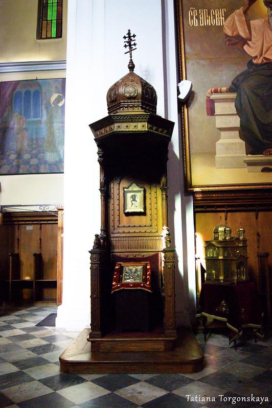 В церкви Св.Николая