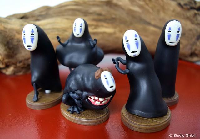 橡子共和國《神隱少女》「無臉男」盒玩作品 !千と千尋の神隠し ポーズがいっぱいコレクション カオナシ