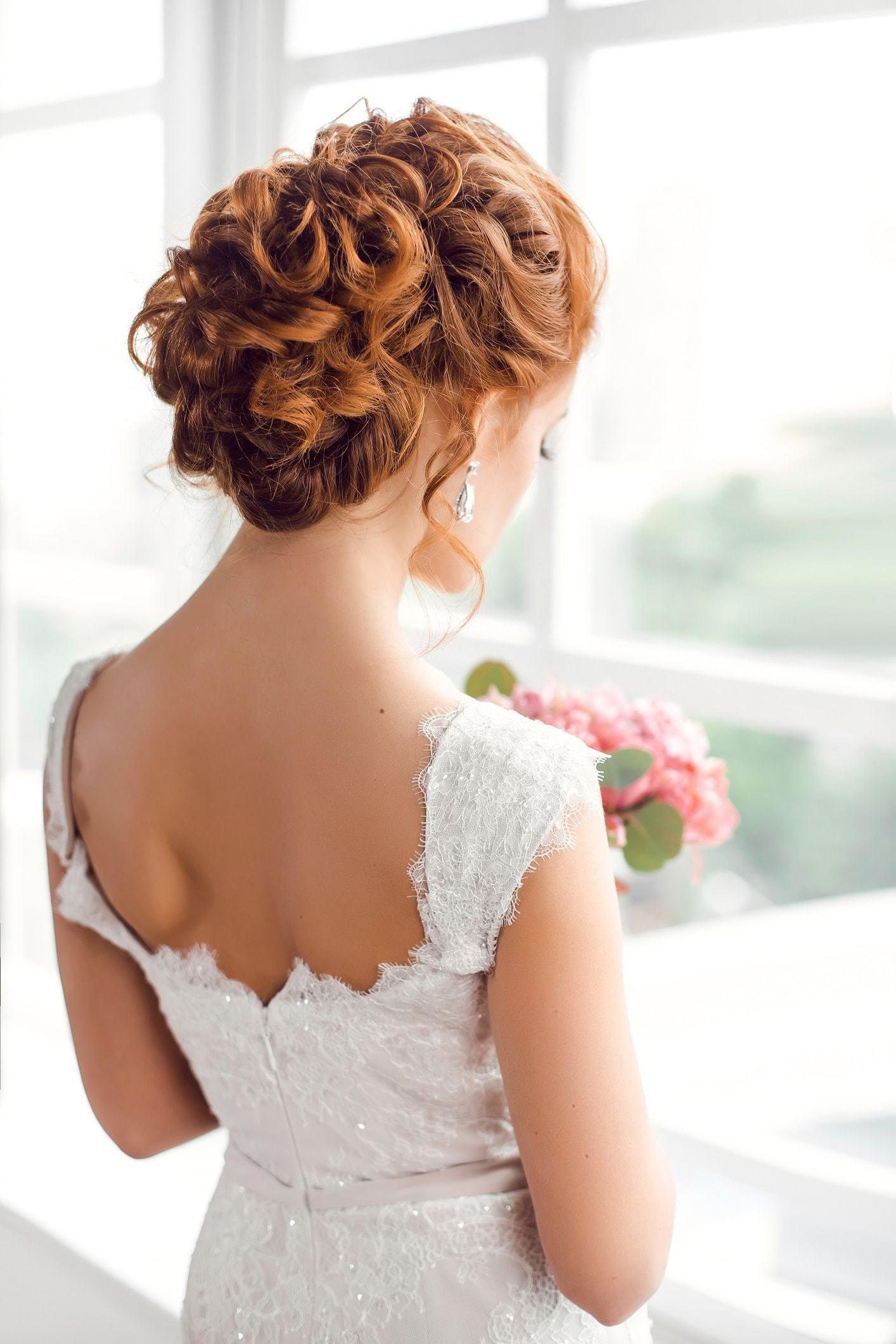 2018 Curly Wedding Day Hair For Amazing Look ! 4