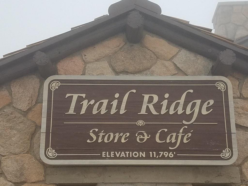 The highest cafe I've been in.