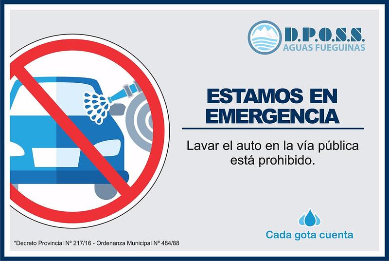 Prohibido lavar casas rodantes
