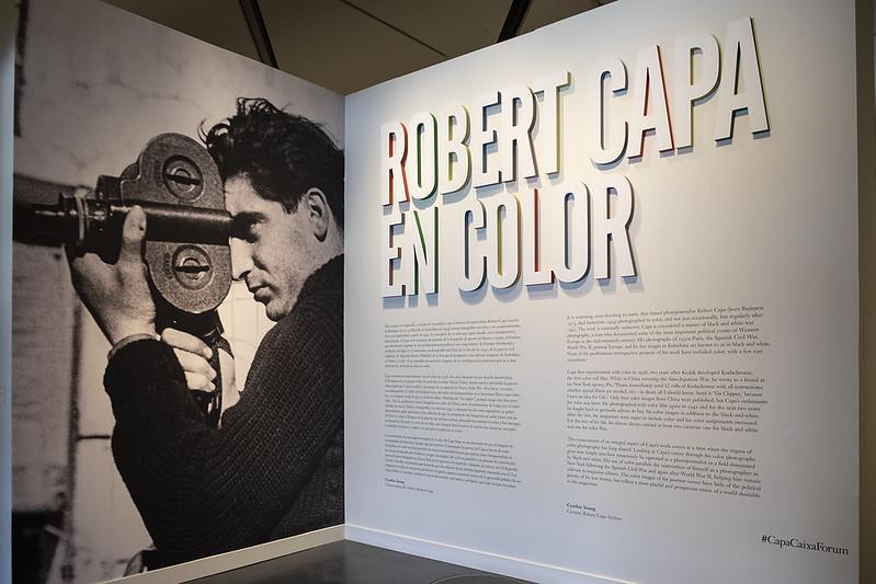 Robert Capa en color