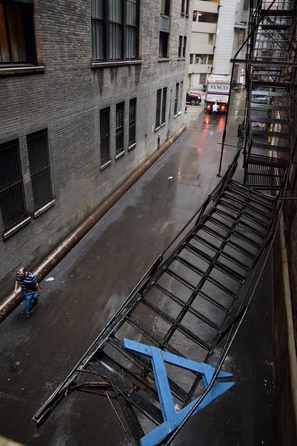 Alleyway, Chicago, 2018