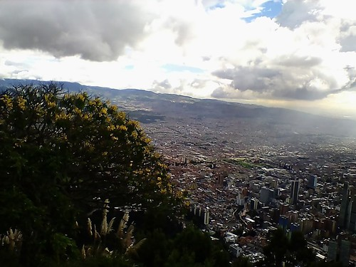 view from monserrate hill and sunbeams