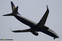 EI-EVA - 40288 - Ryanair - Boeing 737-8AS - Luton M1 J10, Bedfordshire - 2018 - Steven Gray - IMG_6961