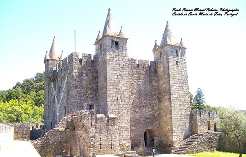 Castle of Santa Maria da Feira, Portugal