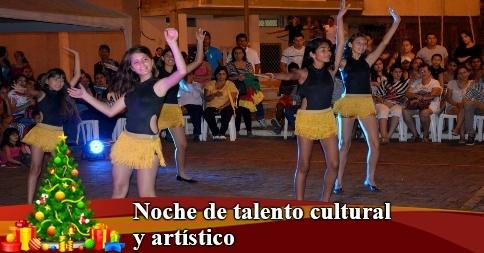 Noche de talento cultural y artístico