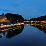 Blue Hour on the Tiber - https://www.flickr.com/people/19527814@N06/