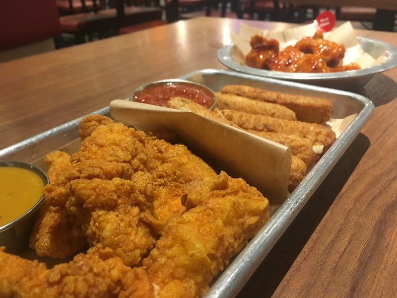 Wing Zone, SM Megamall