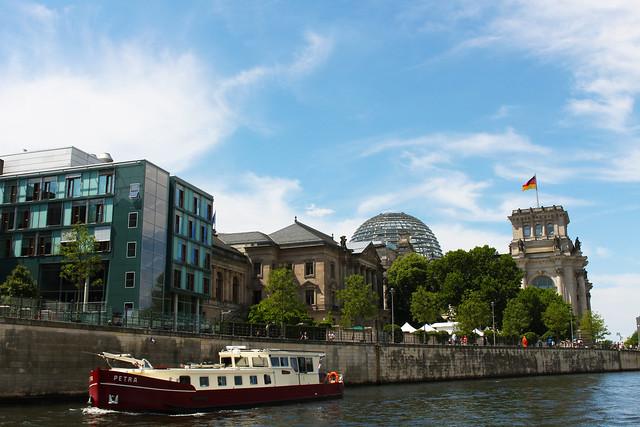 balade en bateau Reichstag