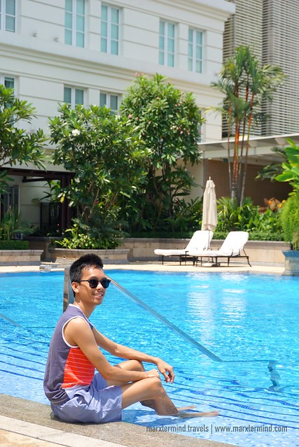 Enjoying the Pool at Park Hyatt Saigon