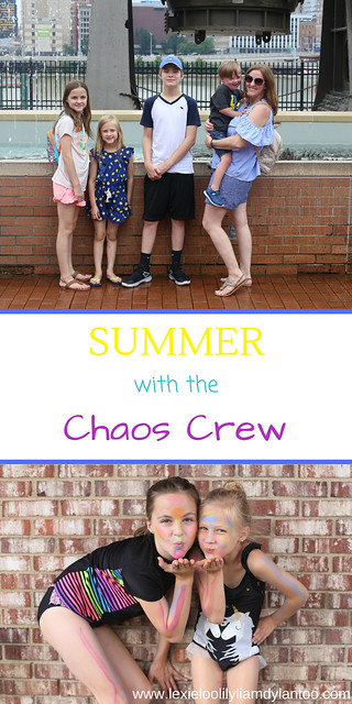 Summer with the Chaos Crew #momlife #motherhood #Downsyndrome