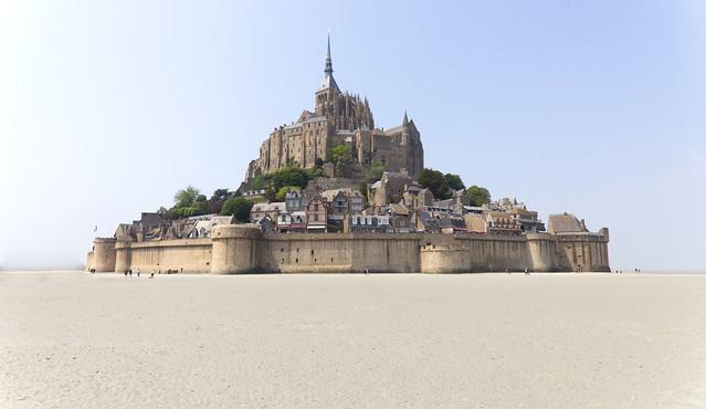 So Beautiful : Low Tide at Le Mont Saint Michel,  Normandy, France