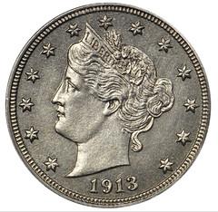 Eliasberg 1913 Liberty Nickel obverse