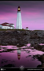 Pointe-au-Père Lighthouse at dawn DRI