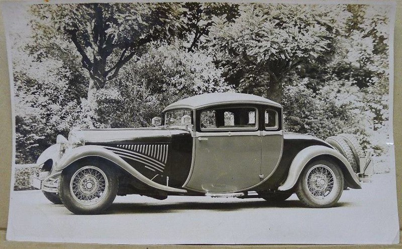 1928 Fritz von Opel presented luxury Opel