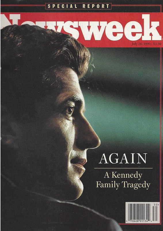 JFK Jr Newsweek 24 07 16