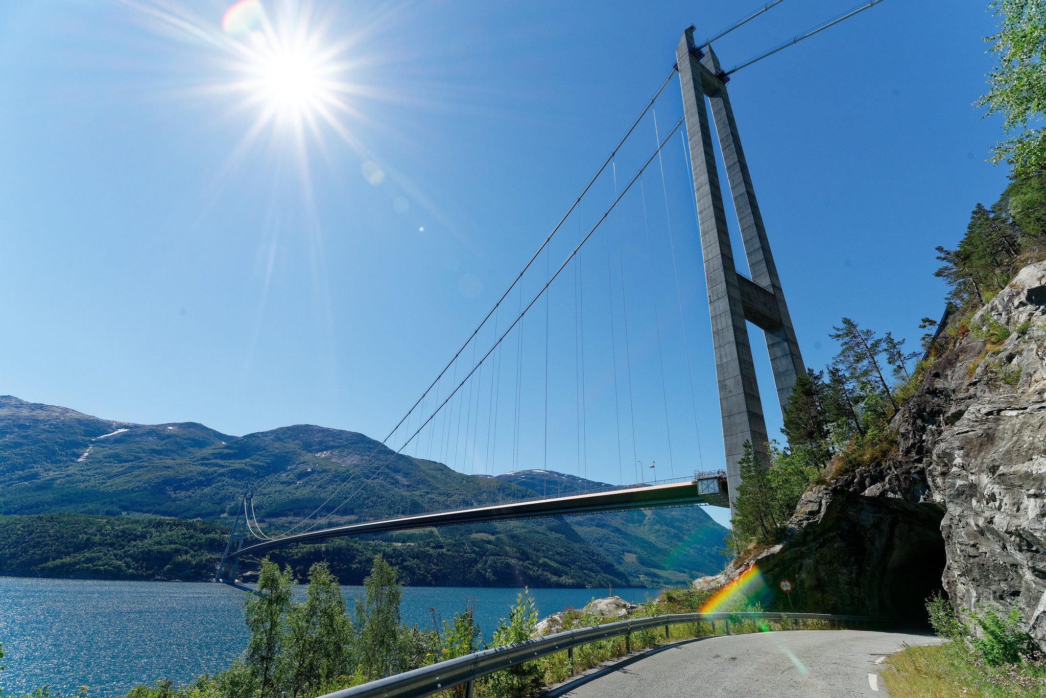 Hardanger Suspension Bridge