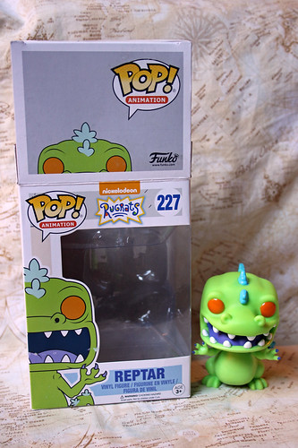 Oh no! Reptar has escaped the box!