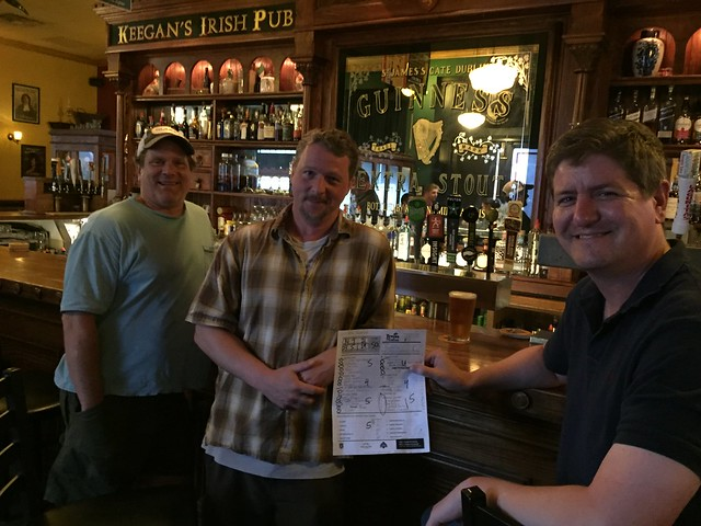 Tuesday, July 10 at Keegan's - Second Place: Fourtified (50 points)