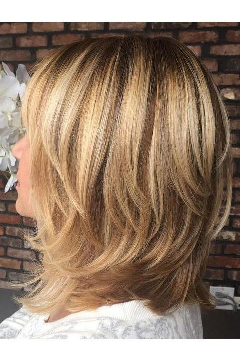 Heavy Shoulder Length Haircuts - Check Now latest Ideas | Hairstylishe 5