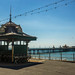 North Pier & seating shelter
