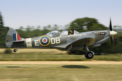 Supermarine Spitfire T Mk.IX NH341 (G-CICK) - Aero Legends Ltd - Headc