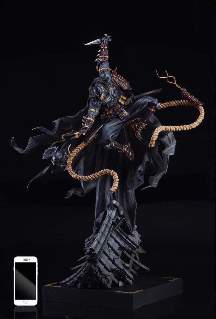 GSC《忍者蝙蝠俠》忍者蝙蝠俠(ニンジャバットマン) TAKASHI OKAZAKI Ver. 1/6比例雕像 上色原型公開!