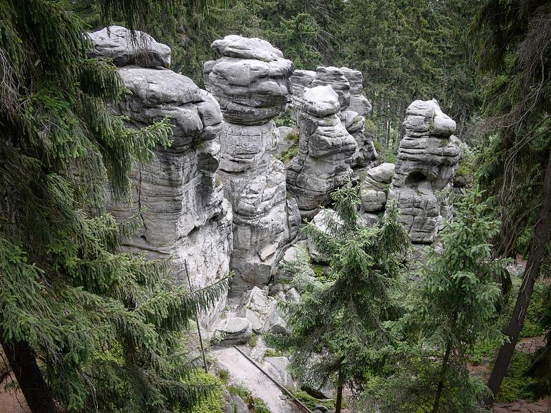Ostaš czeskie góry stołowe