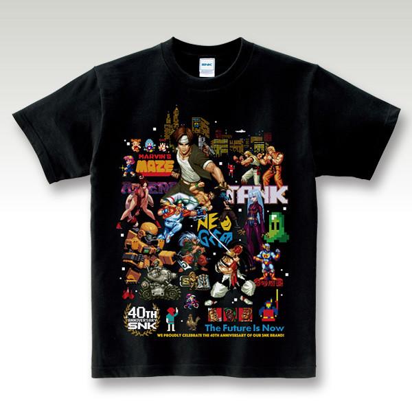 穿上這件再玩 NEOGEO mini 更熱血啦!SNK 40週年紀念T恤(SNK 40th Anniversary Tシャツ)