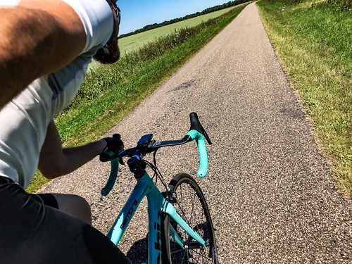 104km on a Saturday ride, completing my 1000km goal for July and doing 436km in just 6 days!