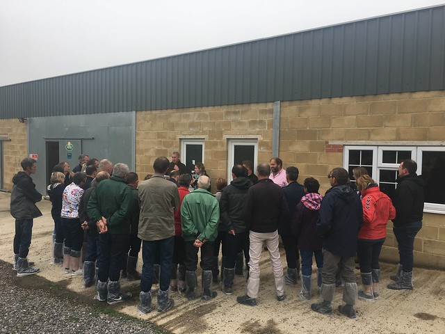 EuroDairy French Visit to UK Farms