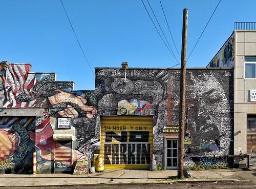 Williamsburg. Street Art #oneplus5 #shotononeplus #op5